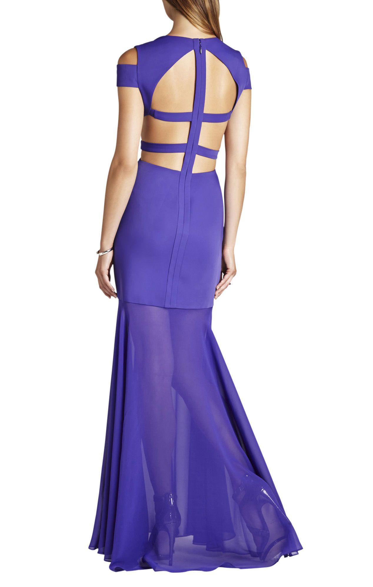 BCBGMAXAZRIA Ava Cutout Gown | BCBG.com | SUNSHINE | Pinterest