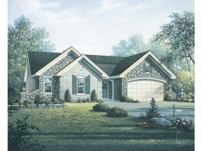 eplans country house plan french country style for a narrow lot 1519 square feet and 4 bedrooms from eplans house plan code