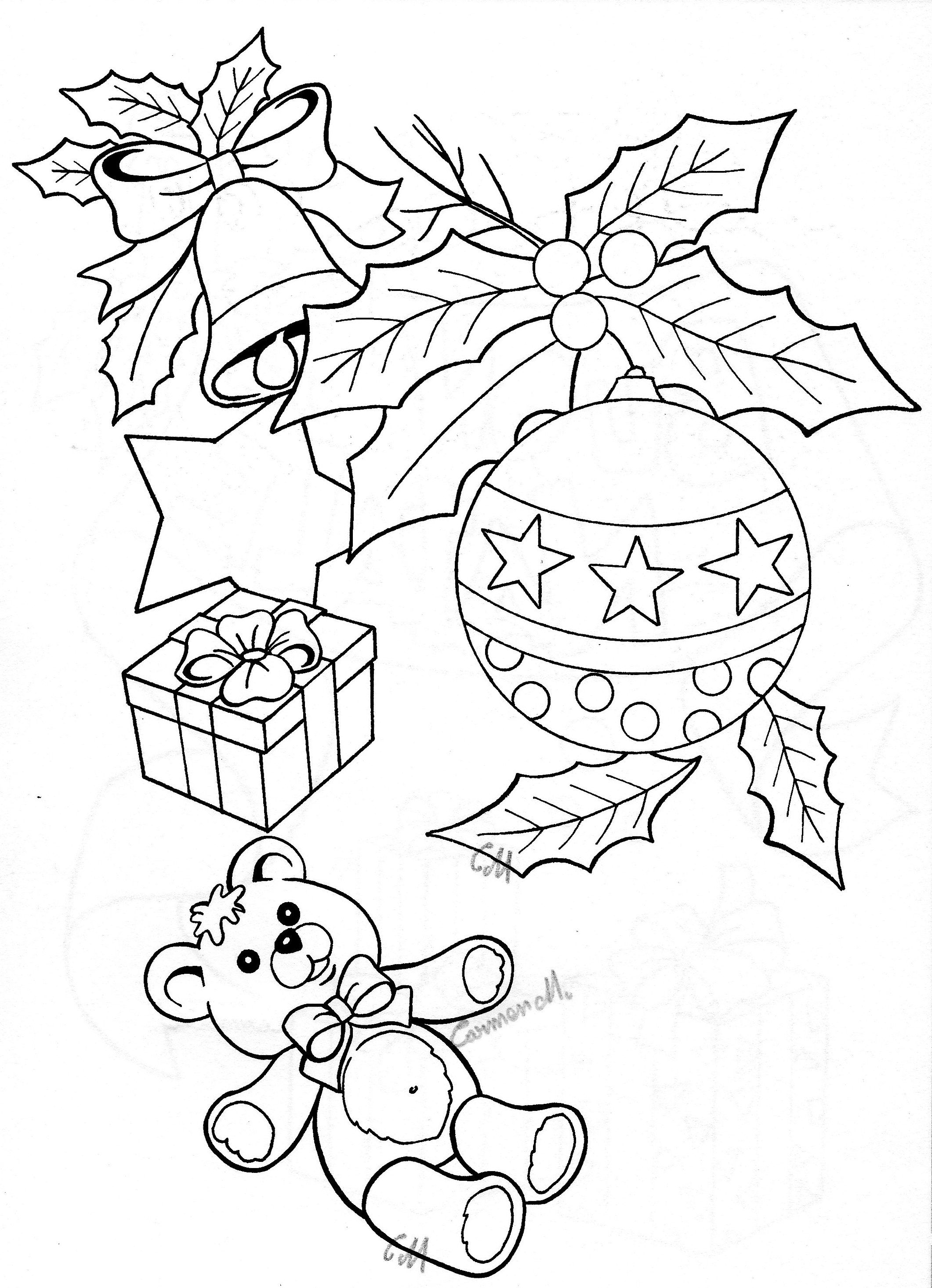 Pin By Maria Abreu Queiroz On Riscos Diversos Christmas Coloring Sheets Christmas Embroidery Christmas Colors