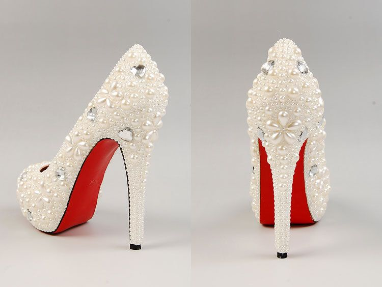 Download Red Bottom Wedding Shoes Wedding Corners Pearl Wedding Shoes Bridal Shoes Wedding Shoes Lace
