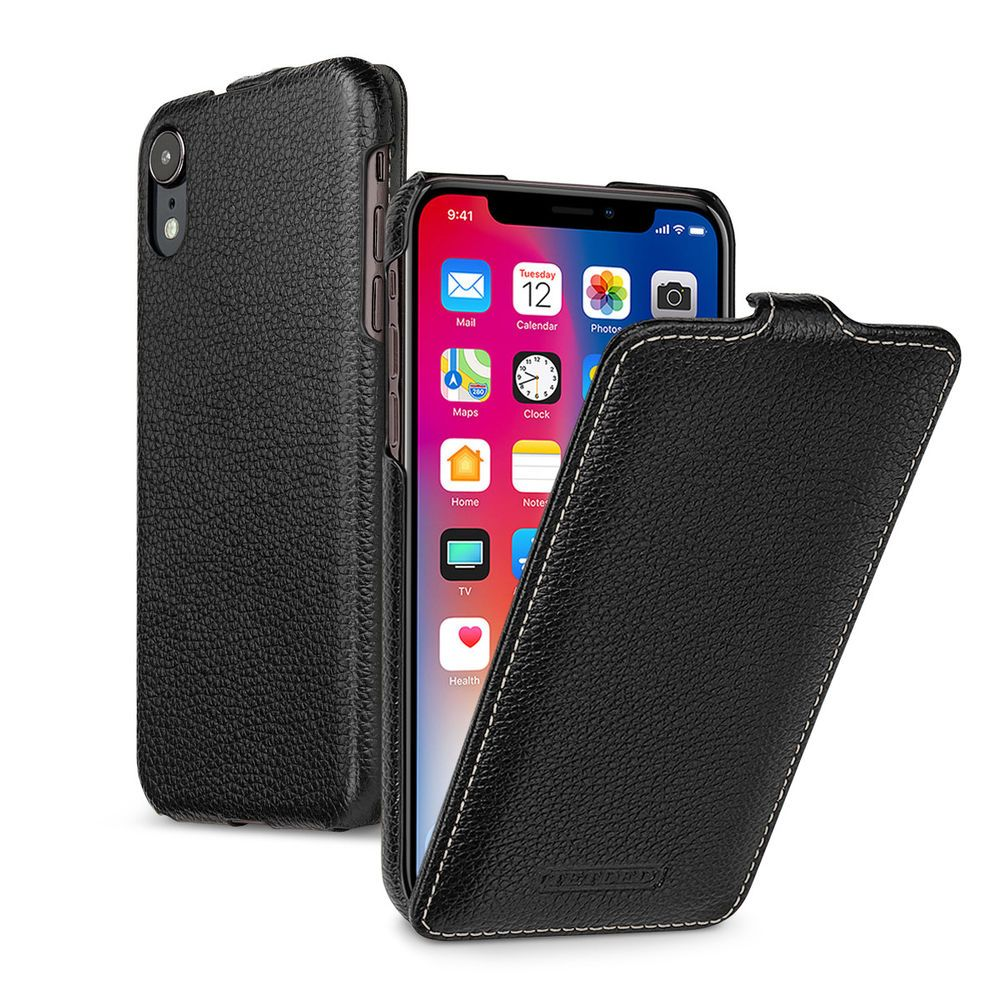 TETDED Premium Leather Case for Apple iPhone XR Troyes