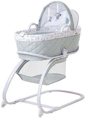 Video Review For Babies R Us Keep Me Near Bassinet Gray Showcasing