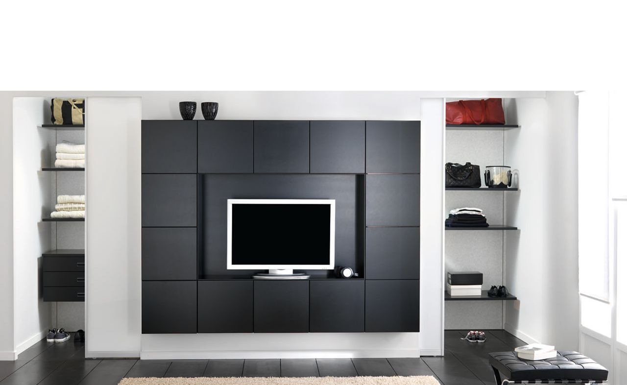 Meuble Home Cin Ma Tv Dallas Solution Multifonction Un  # Solution Meuble Tv