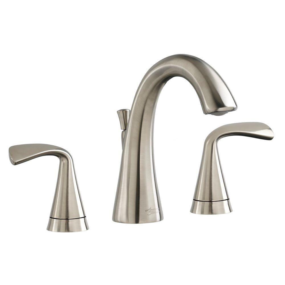American Standard Fluent 8 In Widespread 2 Handle Bathroom Faucet