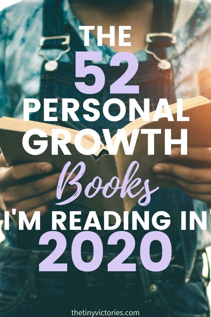 The 52 Personal Growth Books I'm Reading in 2020