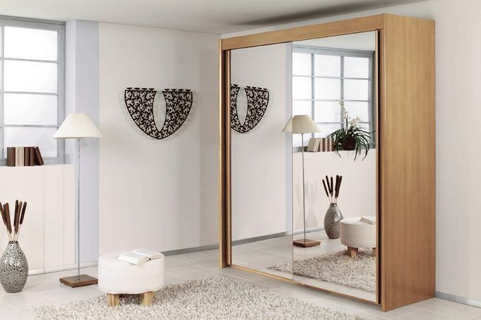 Best Rauch Imperial Sliding Wardrobe Front With Mirror In 400 x 300
