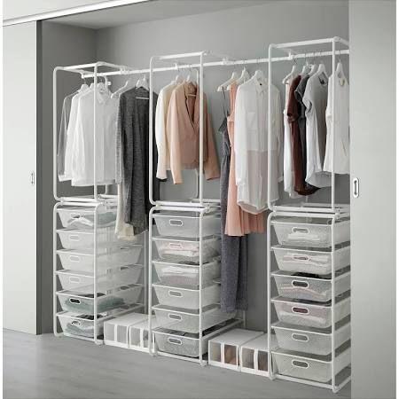 Begehbarer kleiderschrank ikea algot  begehbarer kleiderschrank ikea - Google-Suche | Kleiderschrank ...