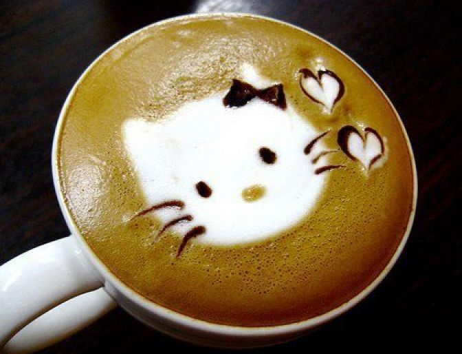 Image result for coffee art