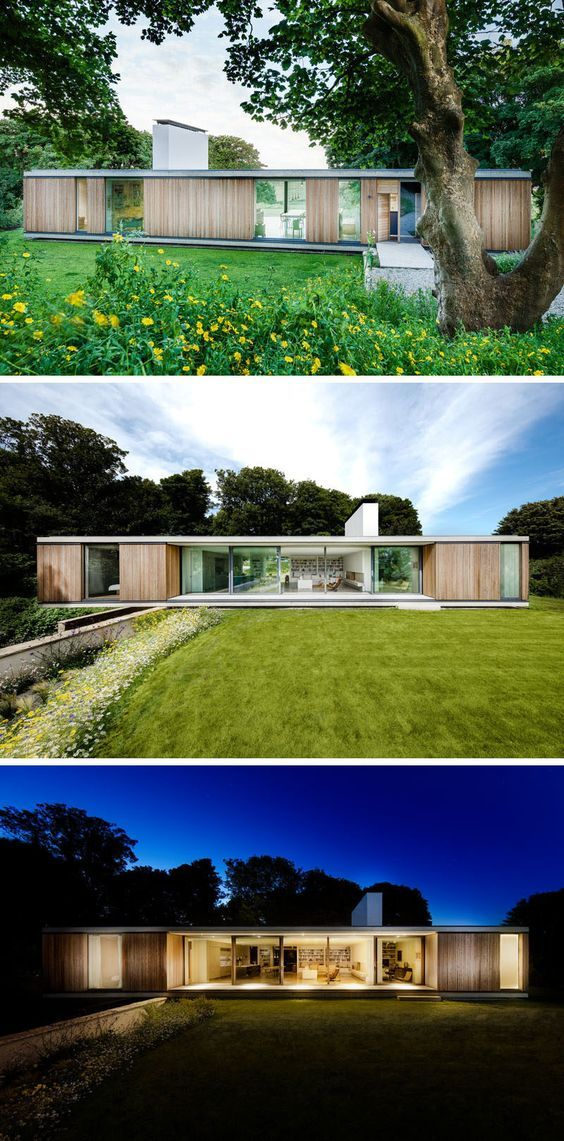 Strom architects have designed this new contemporary home in swanage england that    replacement for an aging bungalow had been on the site since also modern house is to live low land rh pinterest