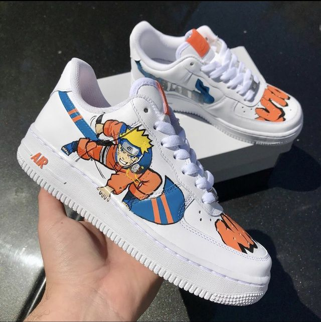Naruto custom af1 | THE CUSTOM MOVEMENT | Chaussures de sport mode ...