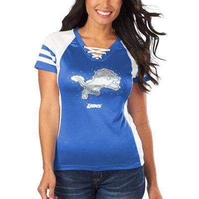 Detroit Lions Majestic Light Blue Draft