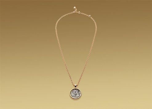 vintage bvlgari monete in pink gold u0026 antique silver roman coin i wannnnnt it so