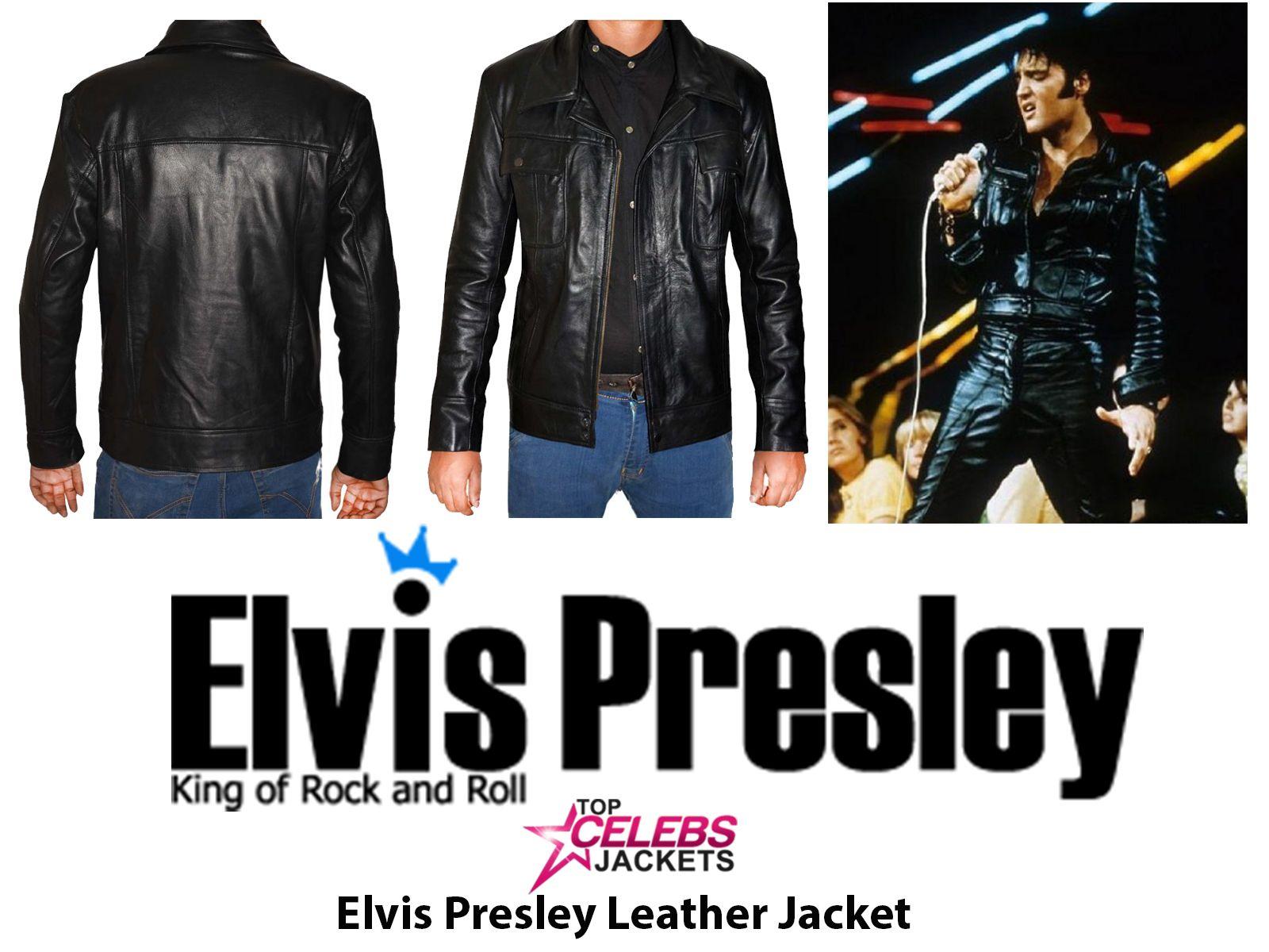 Elvis Presley The King Of Rock Jacket | Jackets, Leather