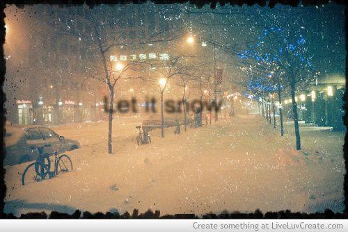 snowy feeling