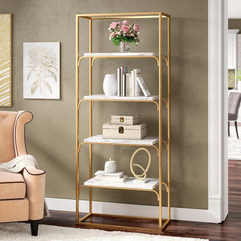 Ny 4 Tier Etagere Bookcase Bookcase Decor Etagere Bookcase Bookcase