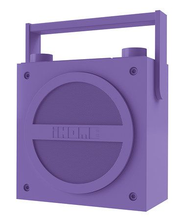 Another great find on #zulily! Purple Rechargeable Bluetooth Boom Box, $70 !! #zulilyfinds