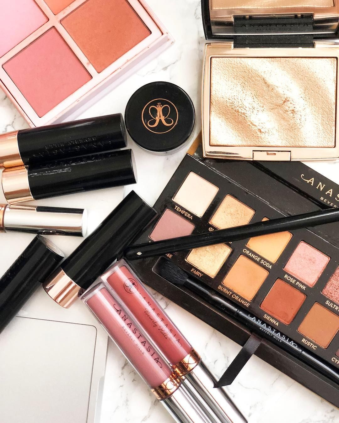Anastasia Beverly Hills Novina Palette + Liquid Lipsticks #makeup #lipstick