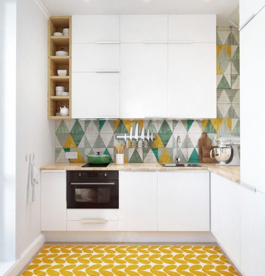 Cocina Con Suelo Amarillo Construccion En Seco Ideas Para