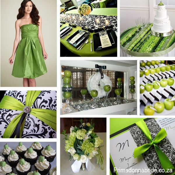Green Cupcake Wedding Decorations: These Ideas For A Green