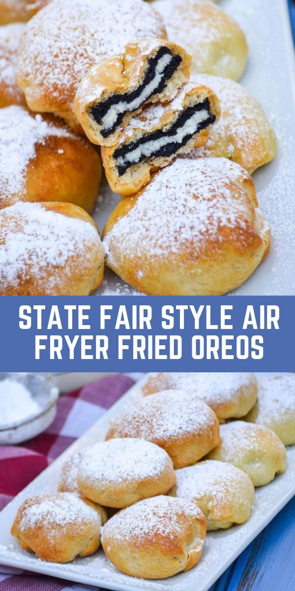 State Fair Style Air Fryer Fried Oreos 4 Sons 'R' Us
