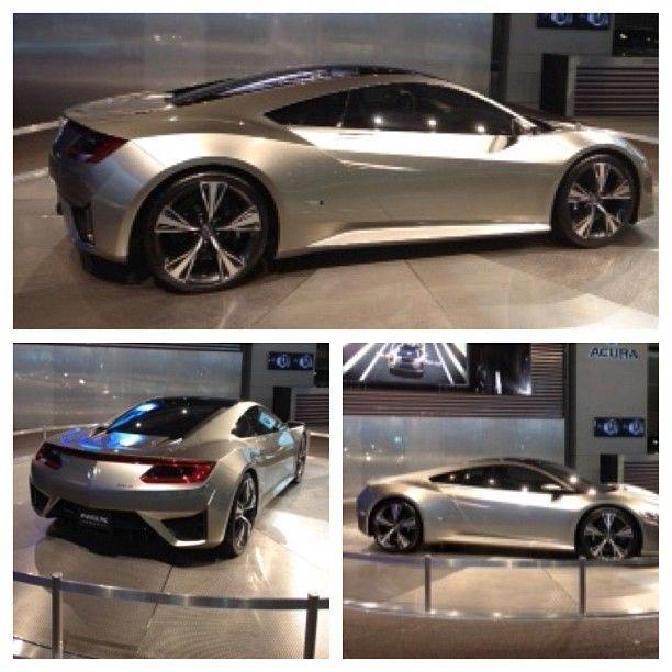 Acura NSX Concept Car #laautoshow #acura #nsx #acuransx