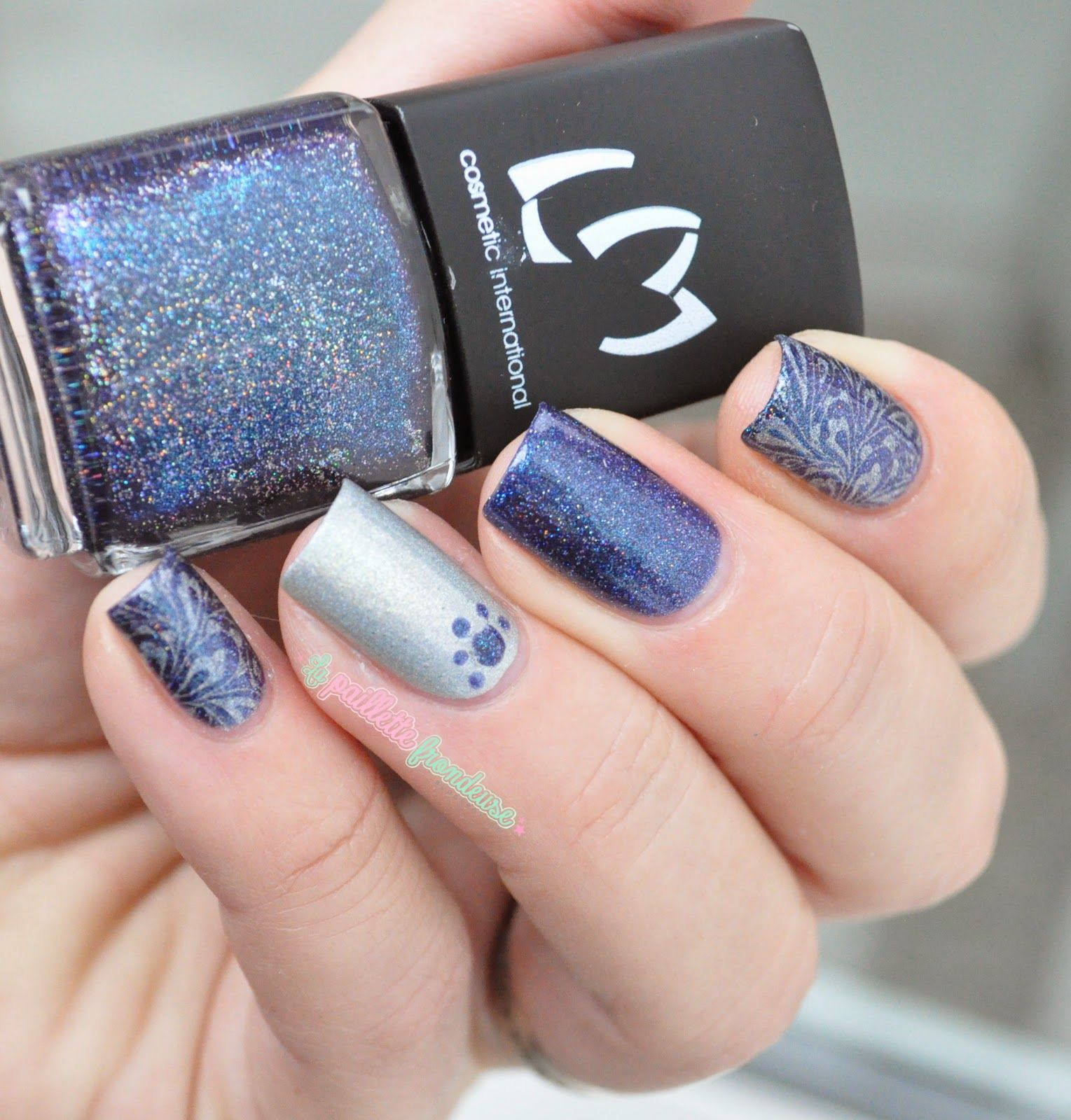 CHERRY NAIL ART - Blog mode beauté: Vernis Lm cosmetic