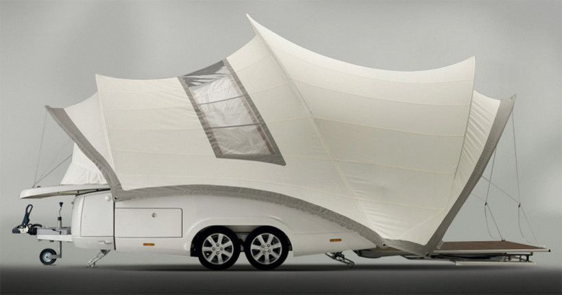 Opera Luxury Camper Trailer That Is So Nice Looking
