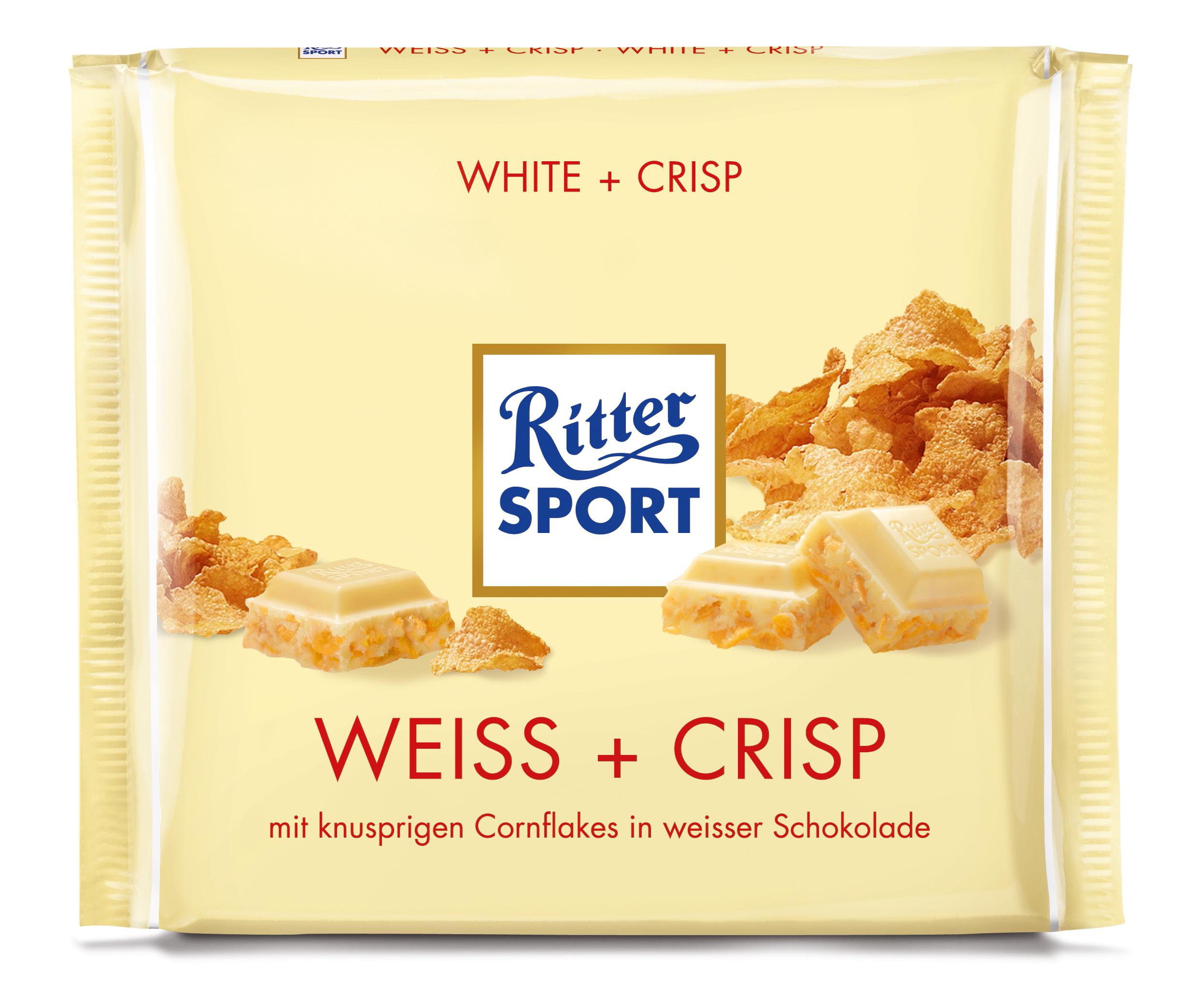 Ritter Sport Weiss Crisp Schokolade