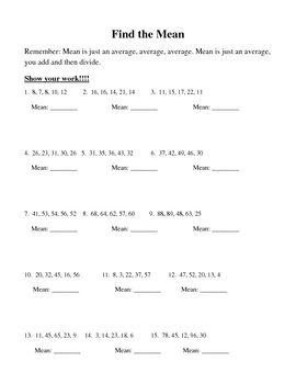 Finding the Average: Mean, Median, and Mode | The o'jays, Math and ...