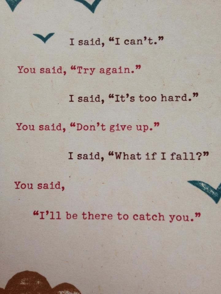 I Ll Catch You If You Fall