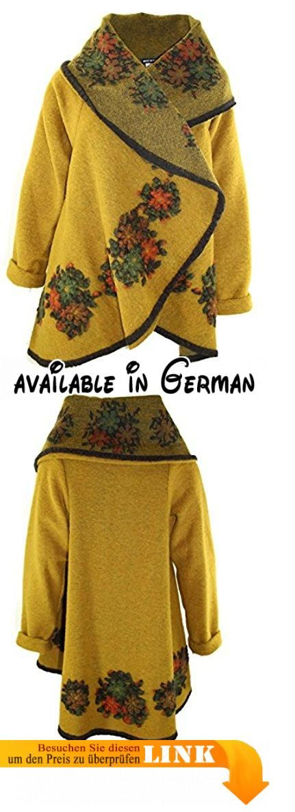 Jacke Mantel Filzjacke Winter Filz 4133 Damen Wolljacke E9H2IDW