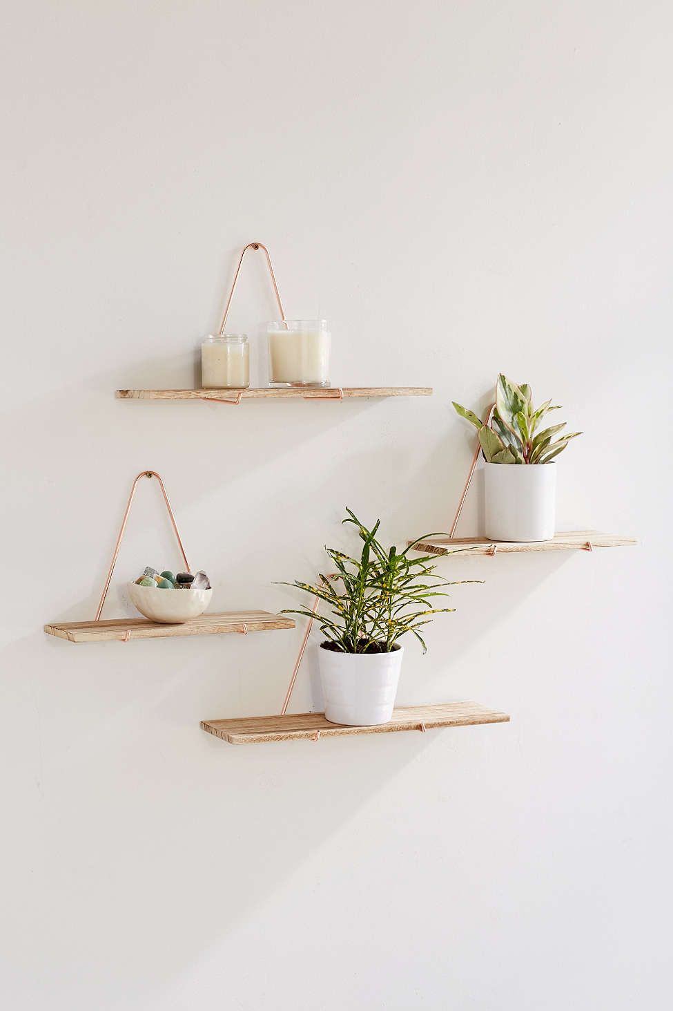 Petites étagères Carter Triangle Bracket Wall Shelf Cuisine Amenagement