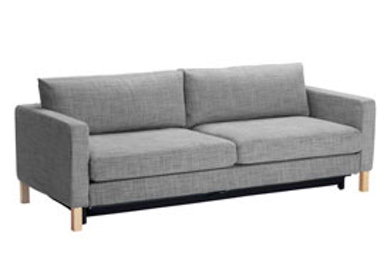 Galileo Cream Microfiber Queen Sleeper Sofa Elliot Corner Clearance Furniture