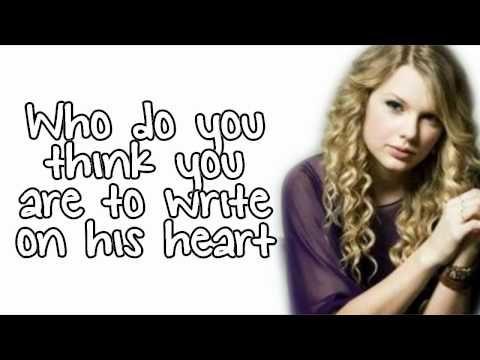 Permanent Marker Taylor Swift Lyrics Taylor Swift Lyrics Taylor Swift Youtube