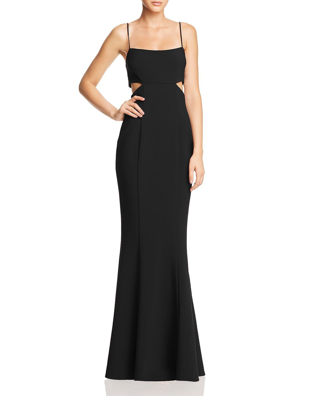 Likely Tamarelli Cutout Gown Women Bloomingdale S Cutout Gown Gowns Black Dress Formal [ 1500 x 1200 Pixel ]