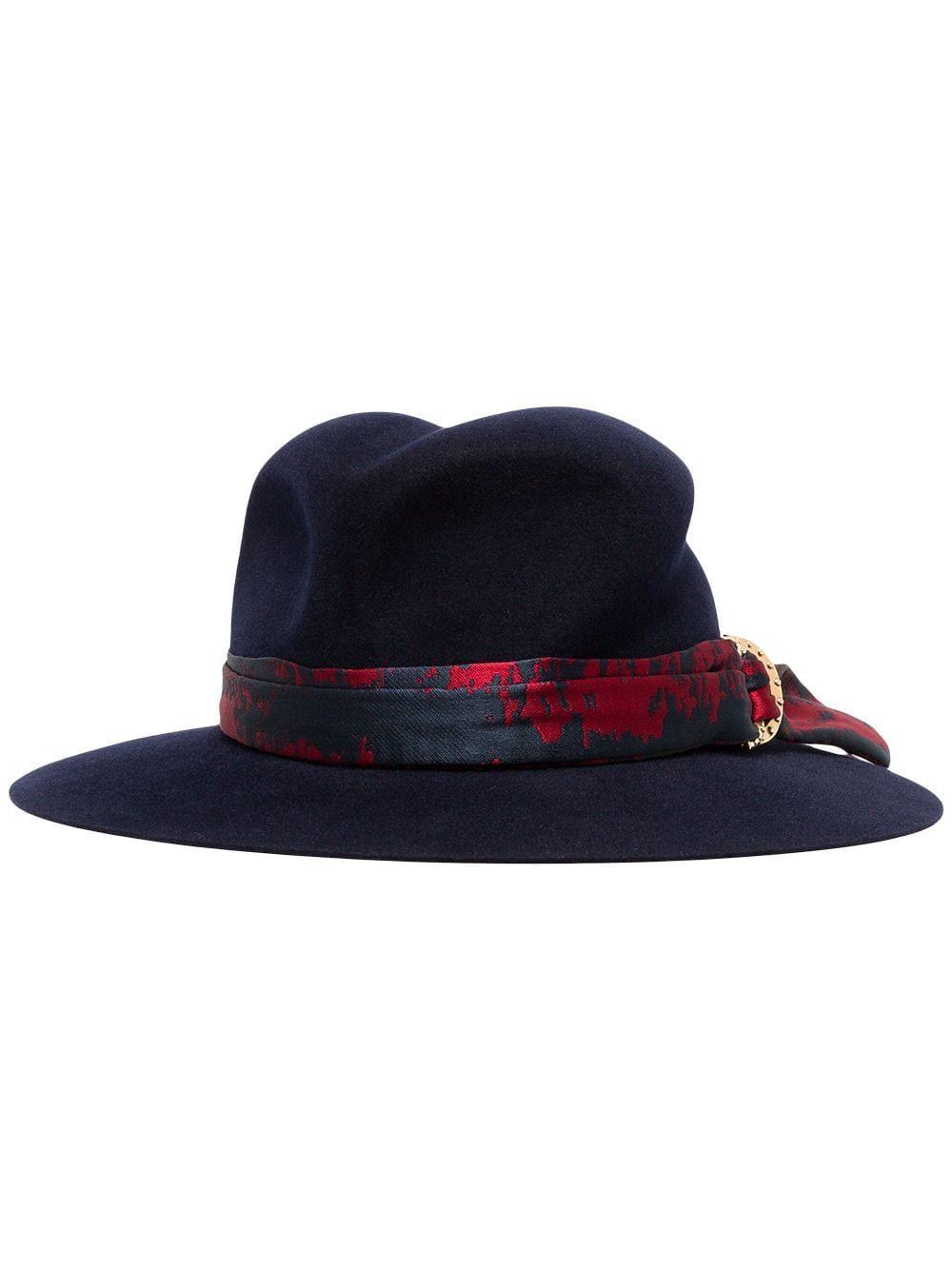 620888020 Maison Michel blue Yoshiko jacquard rabbit fur hat in 2019 ...