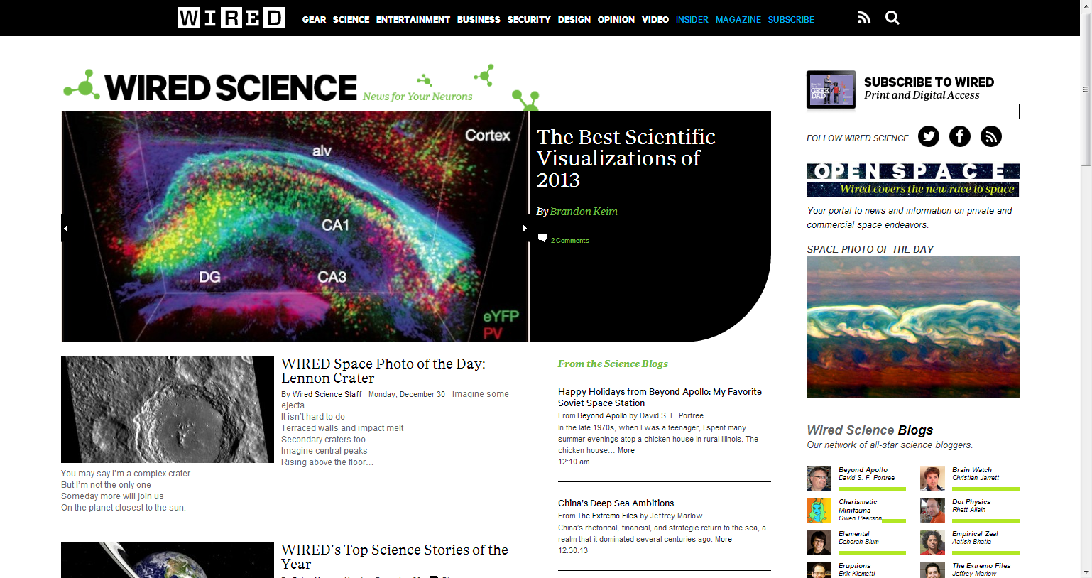 Wired Science - News for Your Neurons