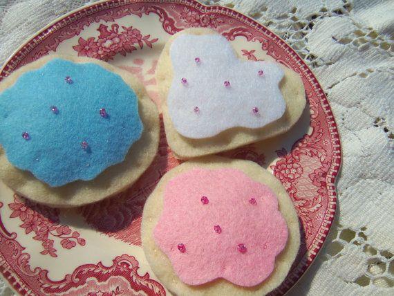 Sweet felty sugar cookies from Chocolate Hen