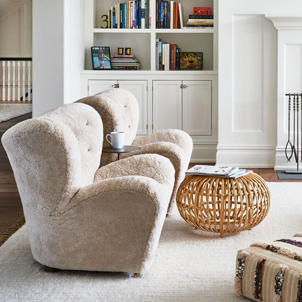 Tired Man Overstuffed Chair Sheepskin Overstuffed Chairs Tired Man Chair #overstuffed #chairs #for #the #living #room