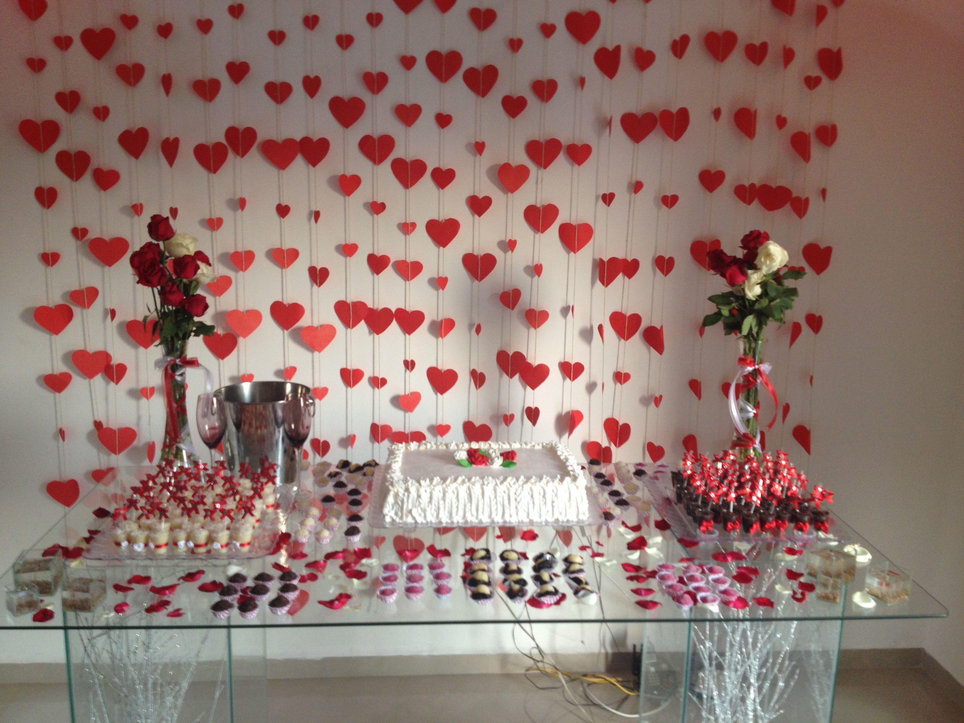 cortina de coração de papel rosa e marrom   Pesquisa Google ...