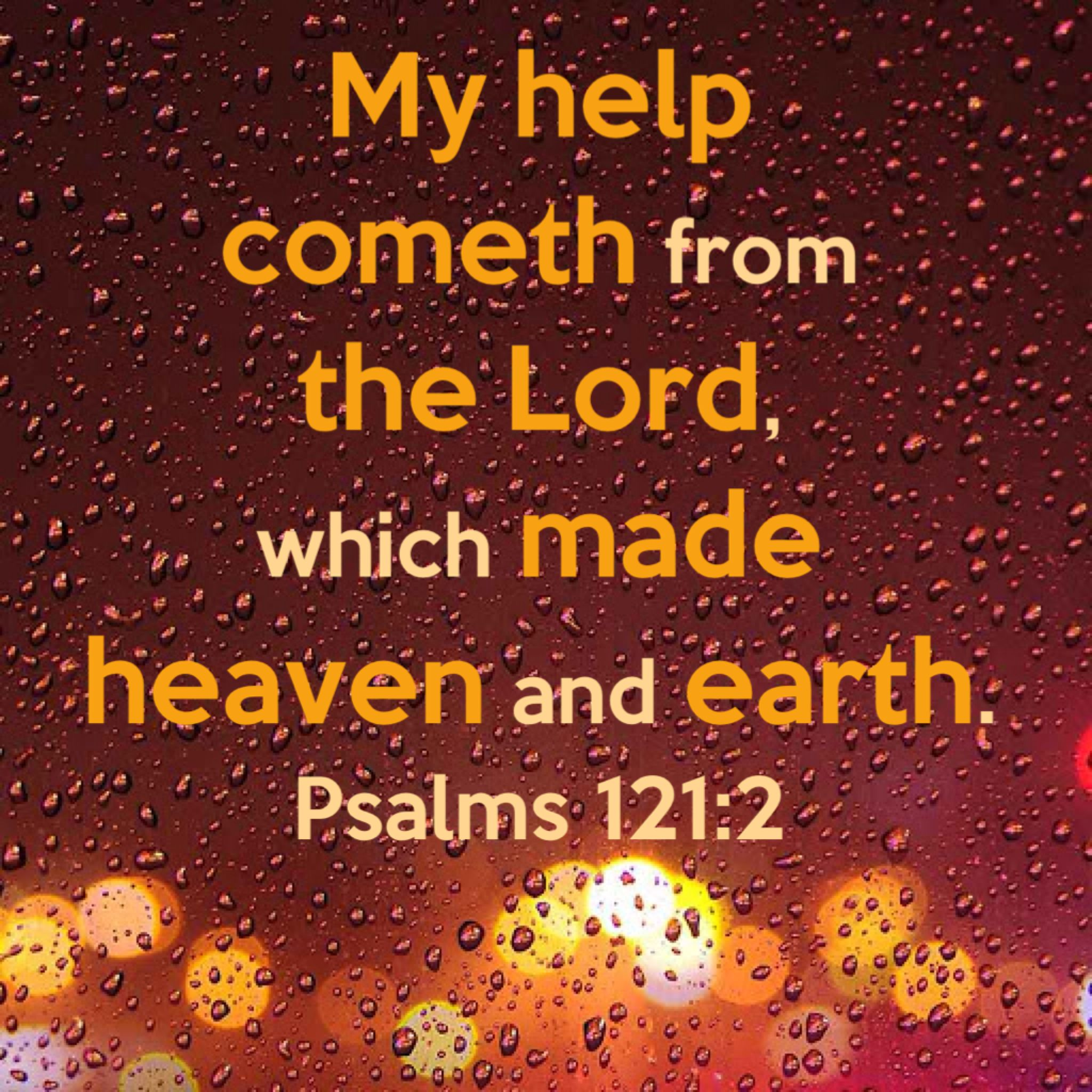 free download of my help cometh from the lord