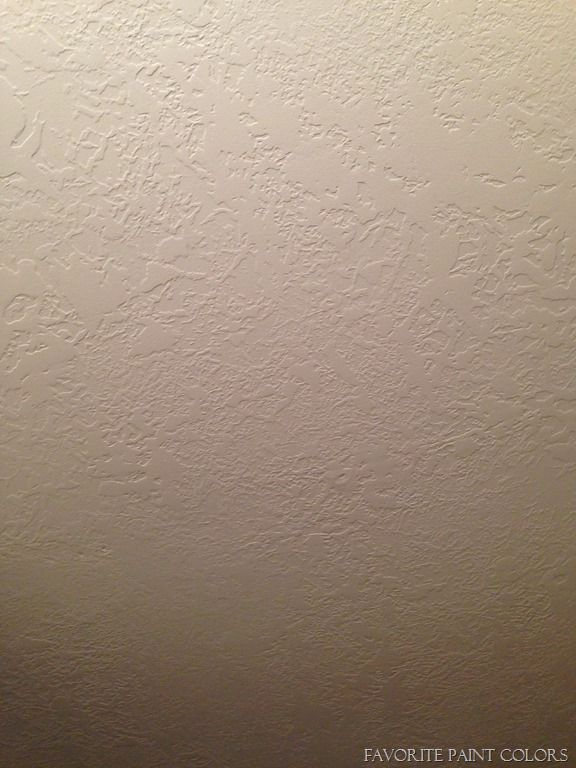 How We Removed Our Popcorn Ceilings And Added Texture Ceiling