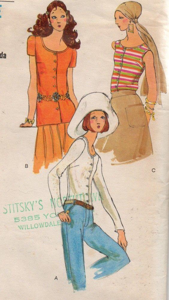 Vintage 1970s Vogue