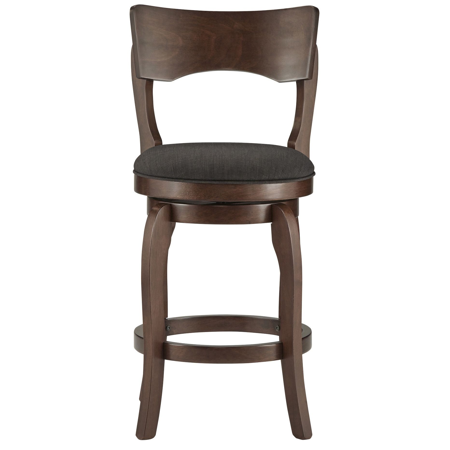 Incredible Lyla Swivel 24 Inch Brown Oak Counter Height Linen Barstool Pabps2019 Chair Design Images Pabps2019Com