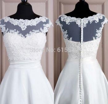 Chaqueta blanca de la boda de tul con apliques de 2014 Bead Tanque novia de la boda del bolero de la alta calidad del cordón del mantón del cabo del encogimiento de hombros