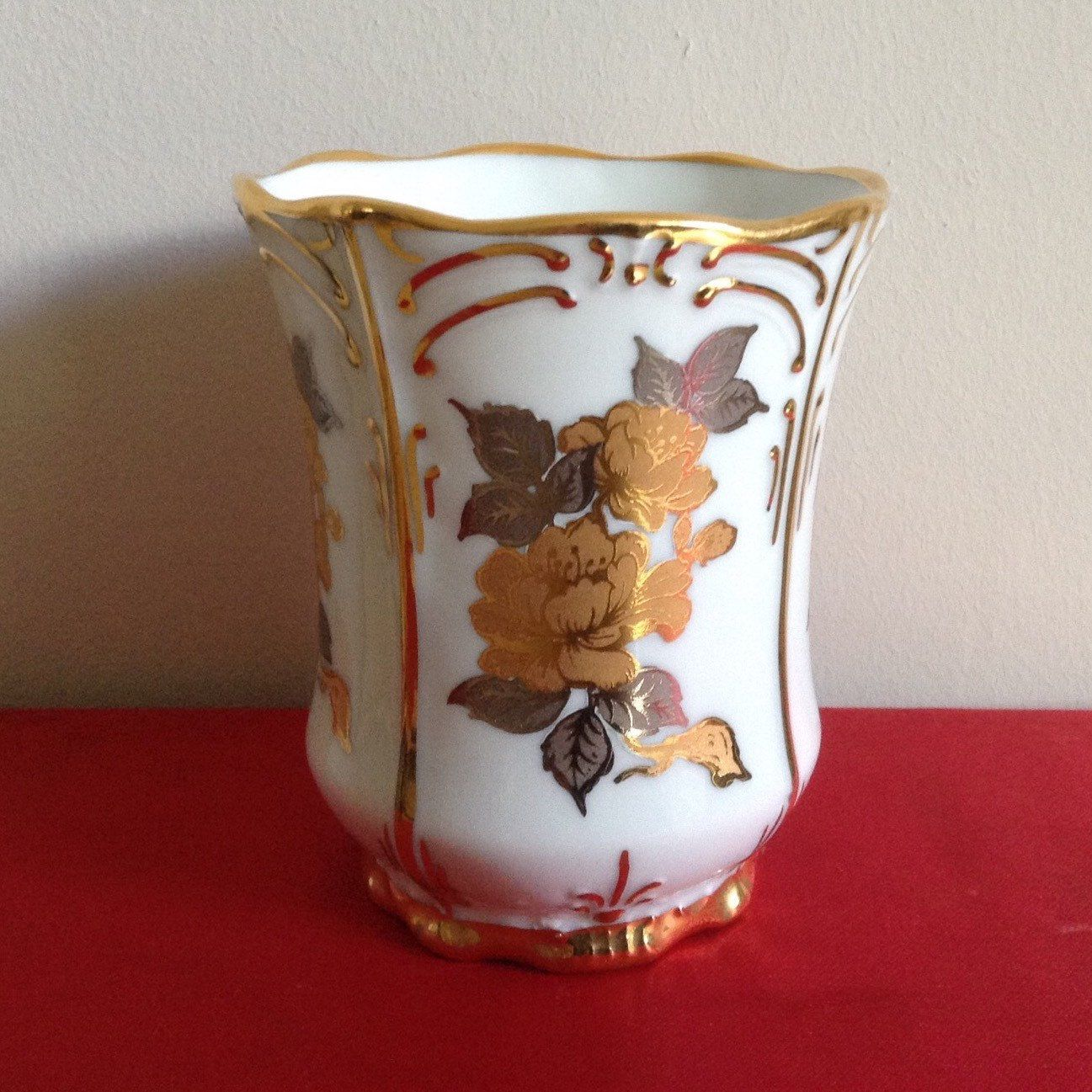 Vintage Porcelain Vase By Artlyns Made
