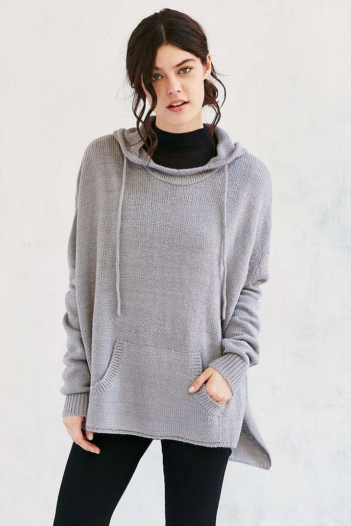 Ecote Boyfriend Hooded Sweater - Urban Outfitters