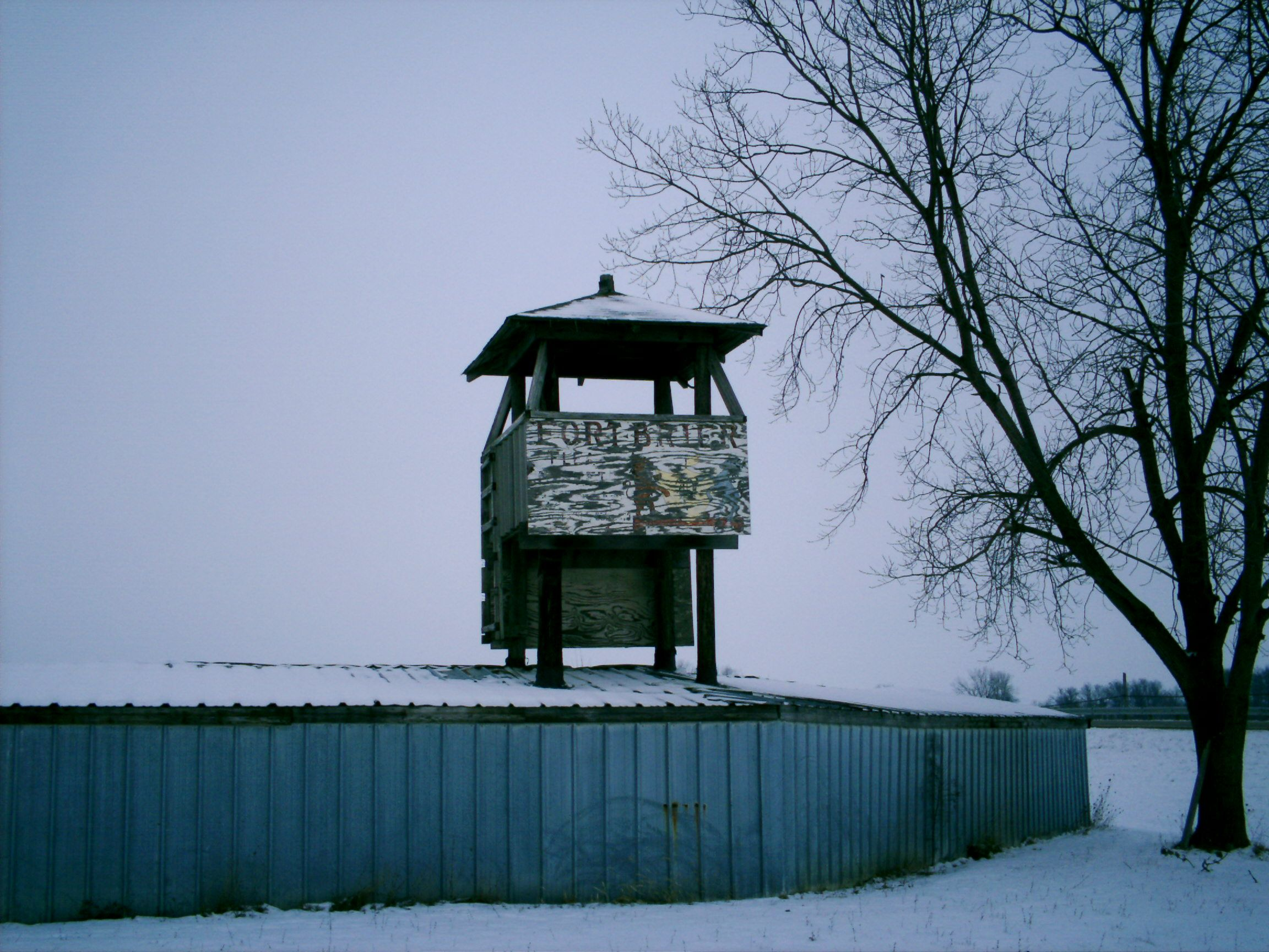 Ohio darke county north star - Dawn Oh Darke County One Of The Guard Towers Haha