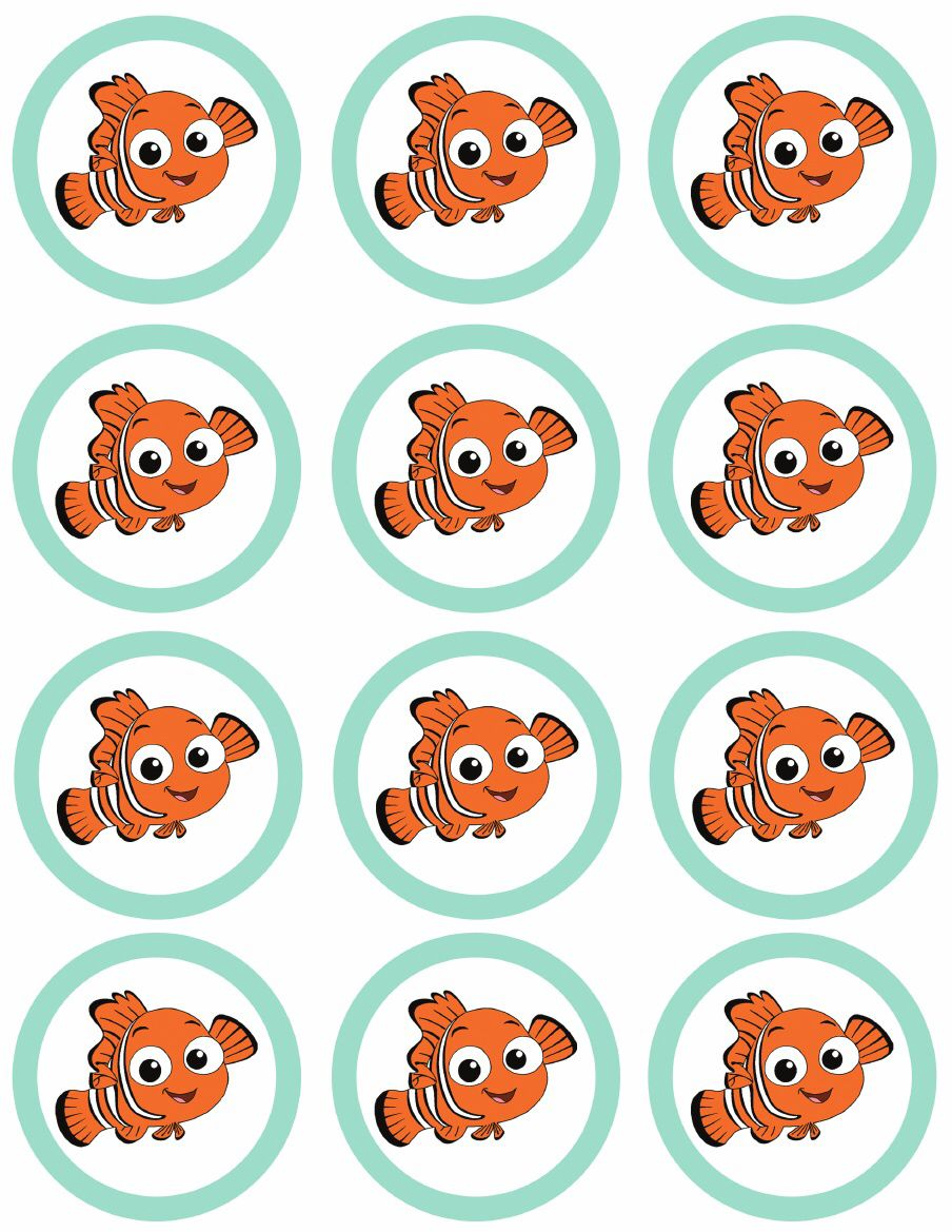 finding nemo party {free printables} DIY Party Nemo Dory