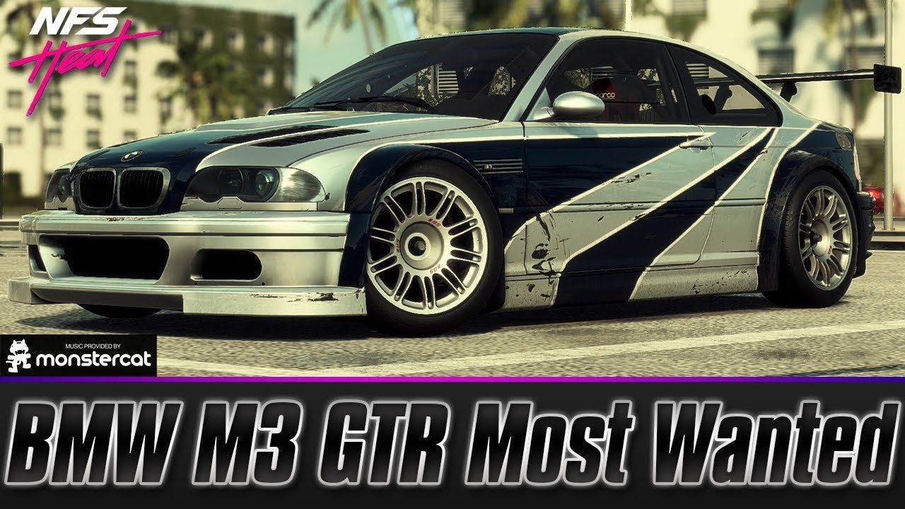 Need For Speed Heat Bmw M3 Gtr Le Most Wanted Fully Upgraded